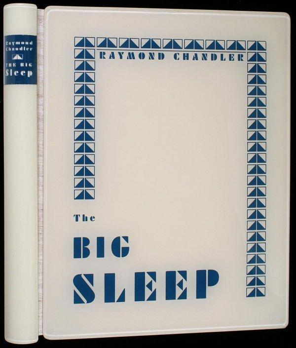 2021: Chandler The Big Sleep ltd Arion Press 1 of 425
