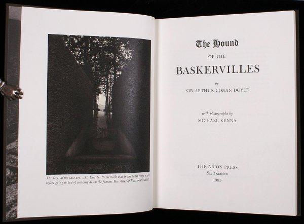 2024: Doyle Hound of the Baskervilles Arion Press ltd