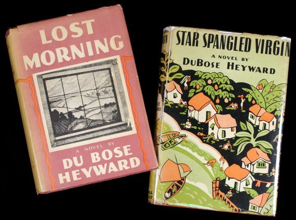 2095: Du Bose Heyward archive signed books & letters