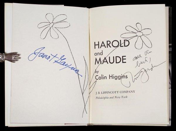 2096: Higgins, Harold & Maude - Book Sgd by 2 actors