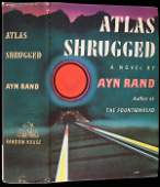 2231: Ayn Rand Atlas Shrugged first edition in jacket