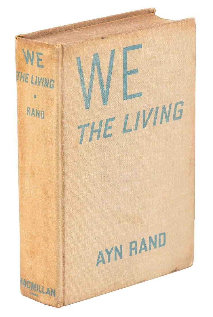 Ayn Rand's first book in English