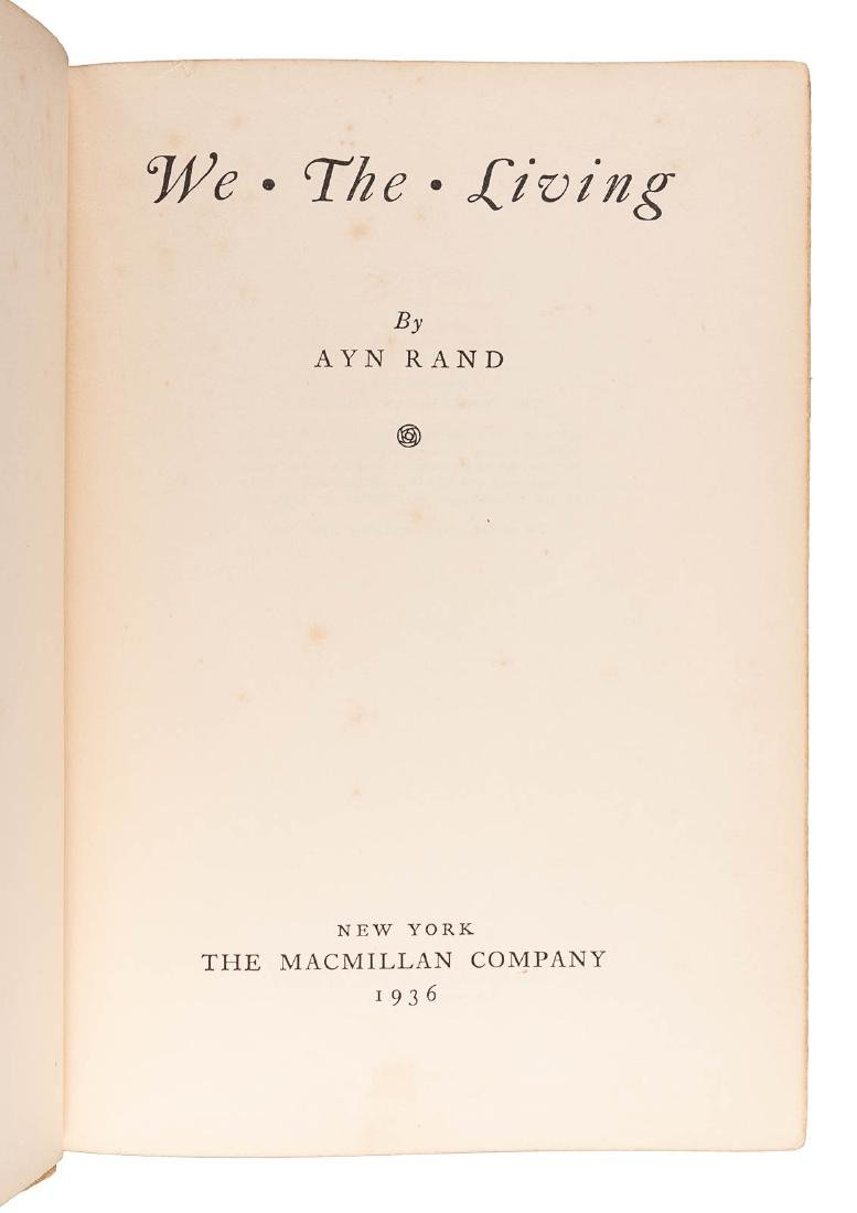 Ayn Rand's first book in English - 2