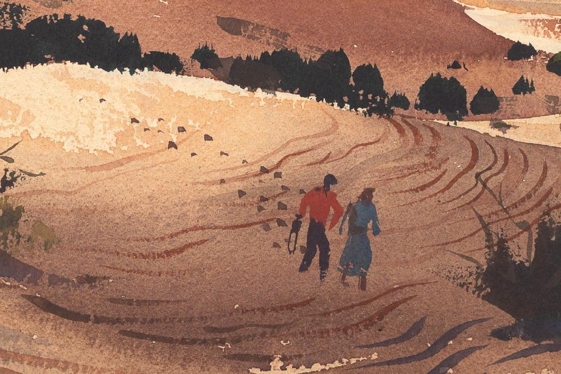 Watercolor by Ralph Hulett, 1949 - 3