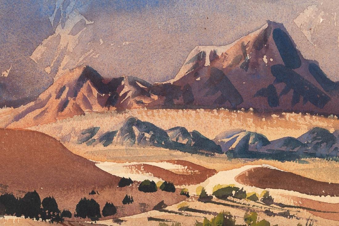 Watercolor by Ralph Hulett, 1949 - 5
