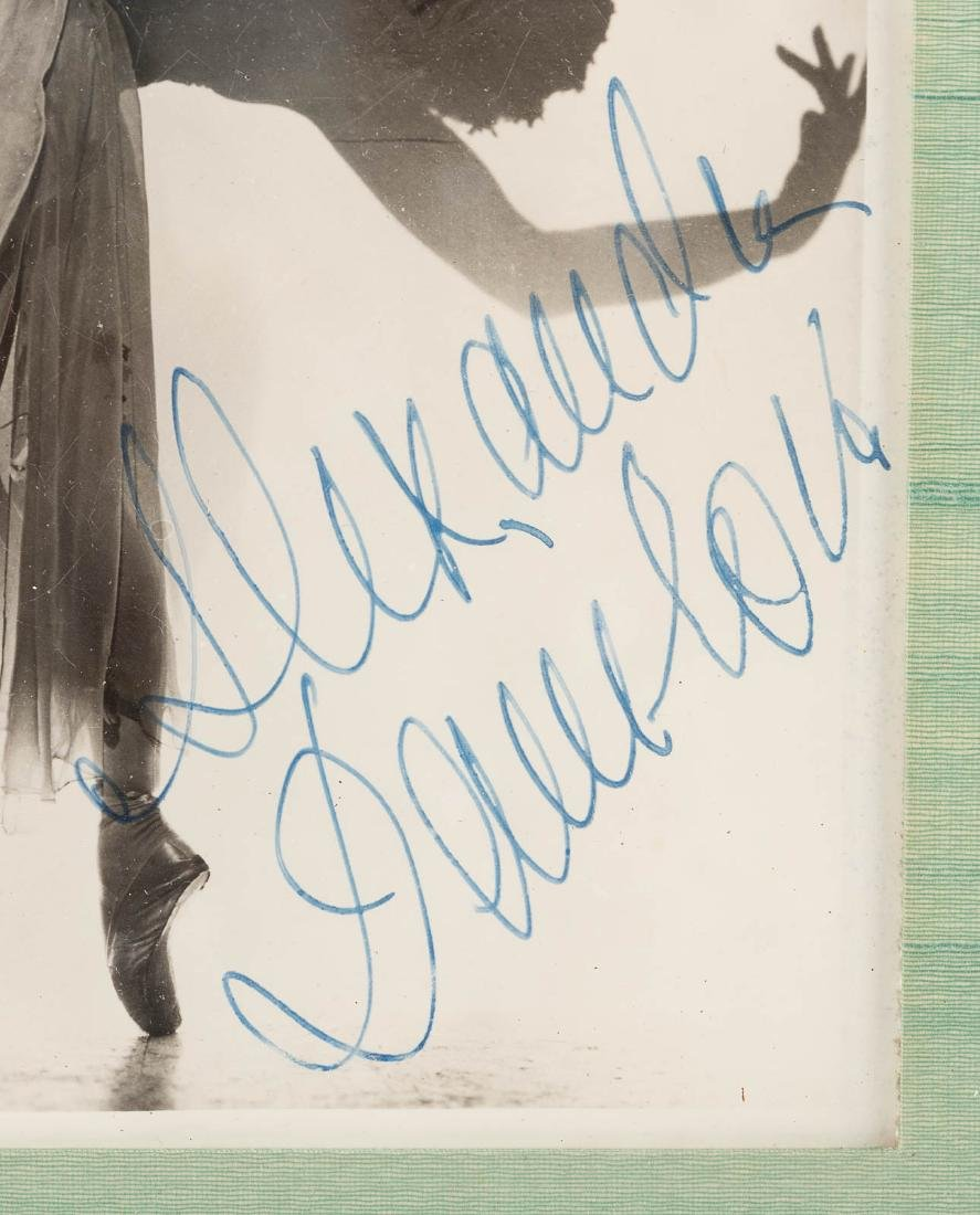 Three signed photographs of dancers - 2