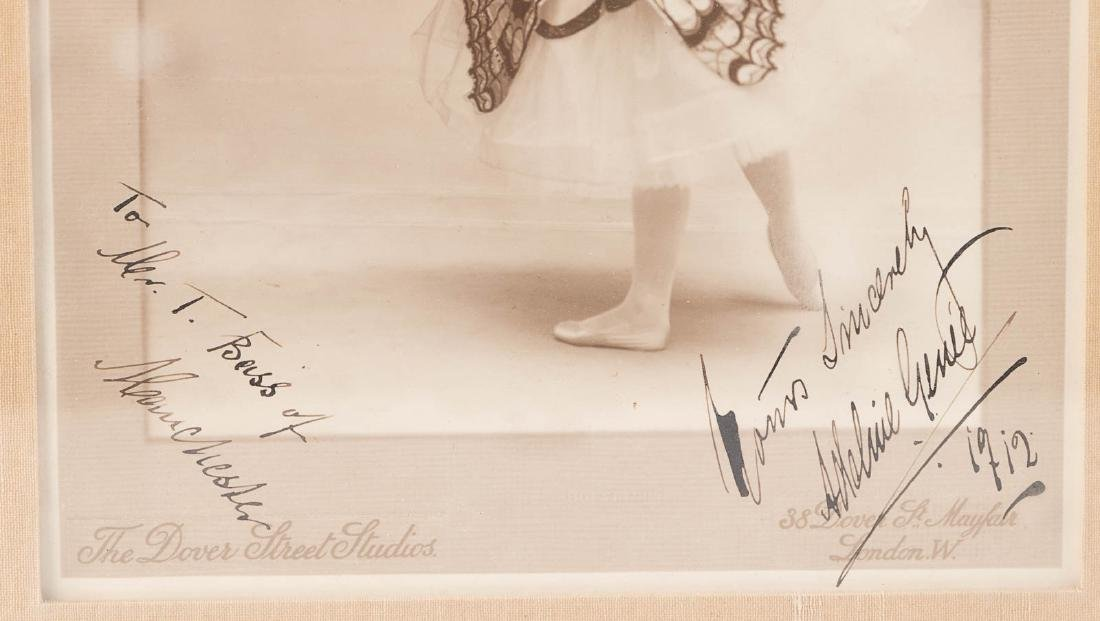 Three signed photographs of dancers - 3