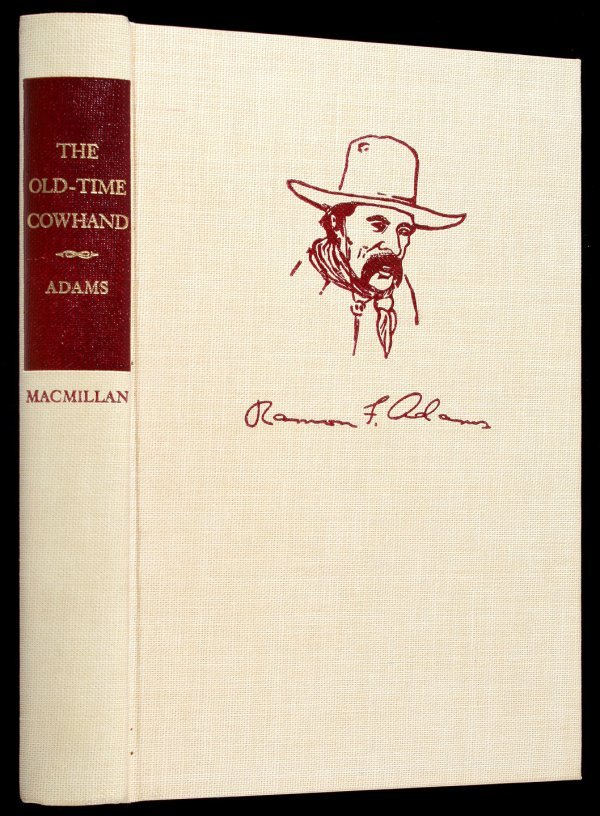 5: Ramon Adams Old-Time Cowhand Signed Ltd. Edition