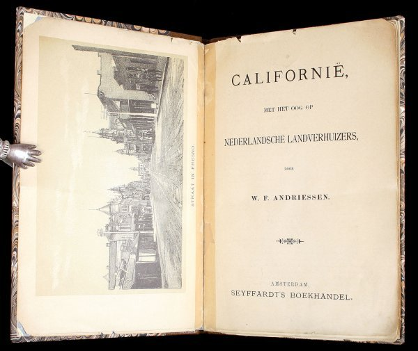 22: Rare California Pamphlet by Andriesen