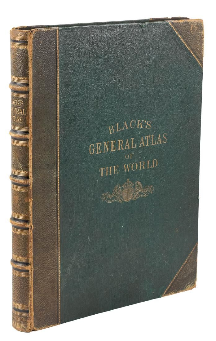 Black's General Atlas of the World 1888