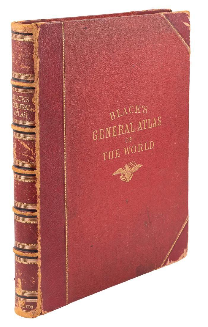 Black's General Atlas of the World 1885