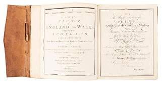 Cary's New Map of England and Wales 1794