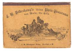 Petite edition of Delkeskamps Rhine panorama 1864