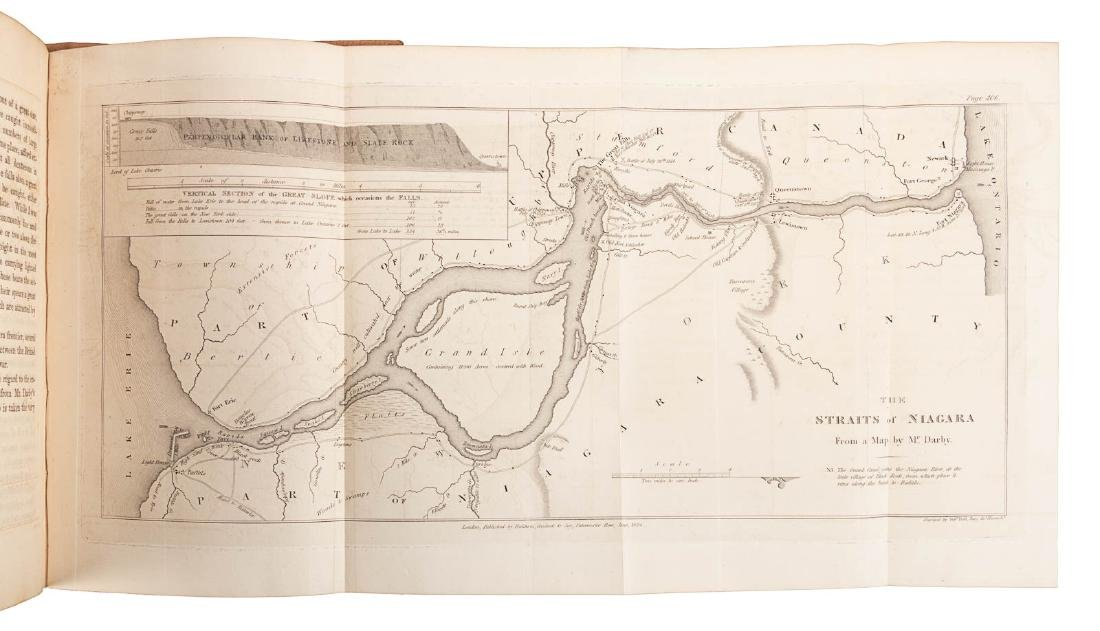 Travels through U.S. with Melish map - 6