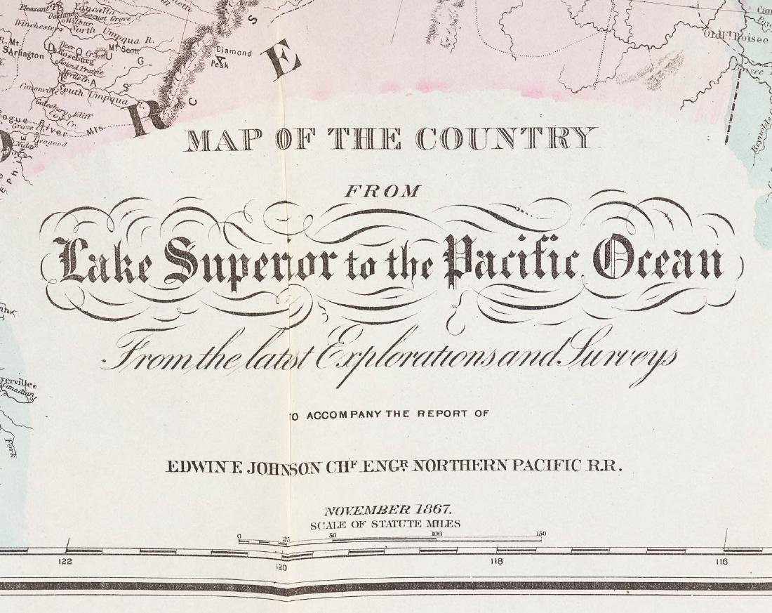 Memorial Northern Pacific Railroad with map - 5