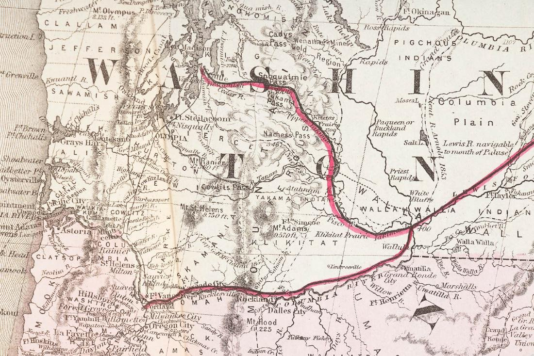 Memorial Northern Pacific Railroad with map - 6