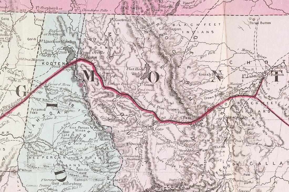 Memorial Northern Pacific Railroad with map - 7