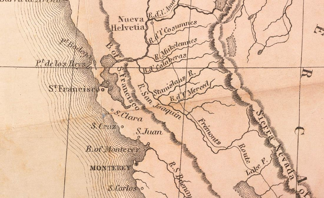 Tanner's map of Mexico 1846 - 2