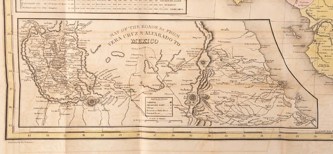 Tanner's map of Mexico 1846 - 6