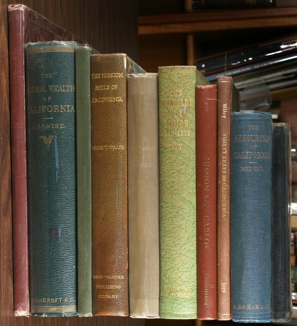 1007: Group of 10 Volumes on California