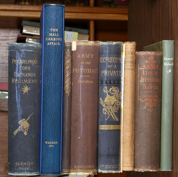 1011: Group of 9 Books on the American Civil War