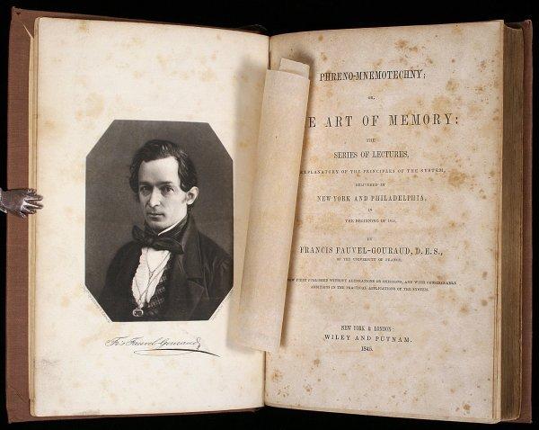 1012: Henry Clay's Copy Phreno-Mnemotechny 1845