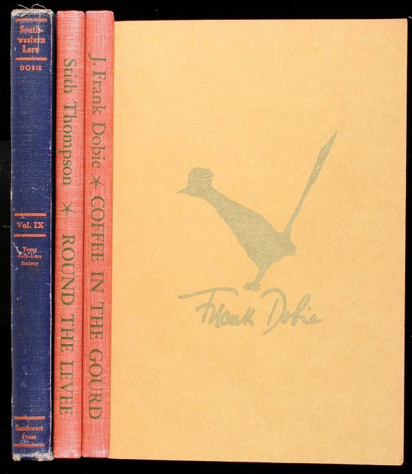 1013: Lot of 4 titles edited by or about J. Frank Dobie
