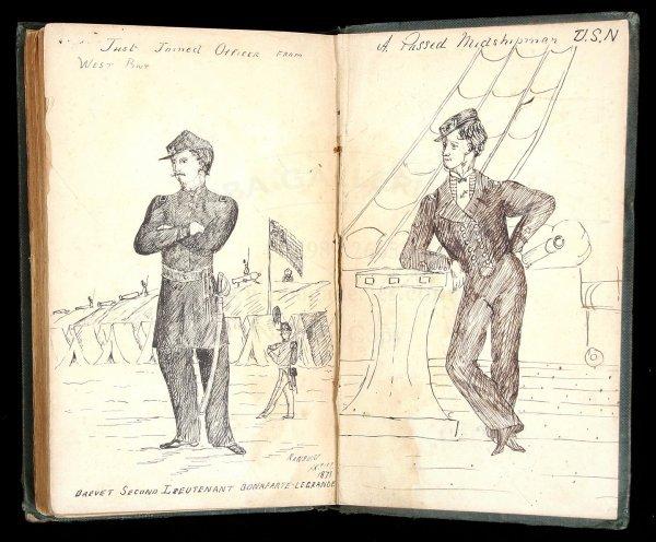 1015: Eastman Poems w/ 2 pen-&-ink drawings West Point