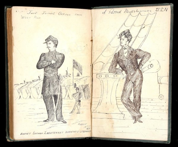 1015: Eastman Poems w/ 2 pen-&-ink drawings West Point