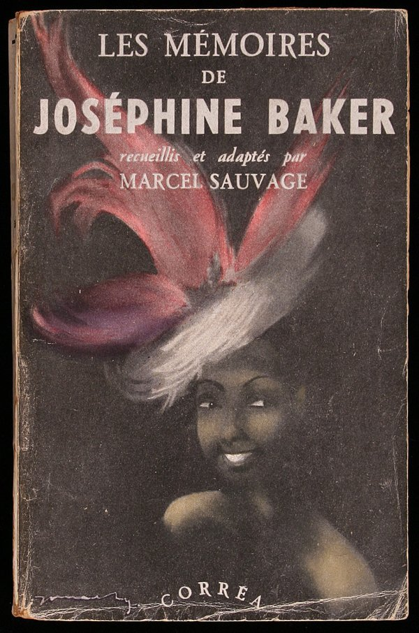 1182: Les Memoires de Josephine Baker Signed!
