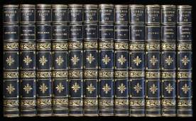 1231 George Eliots Works Finely Bound