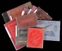 1320 Lot of Ten 19th Century View Books