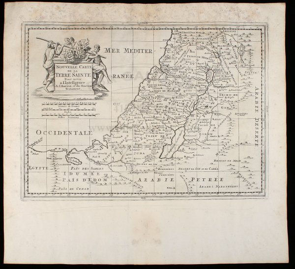 2003: 18th century map of the Holy Land