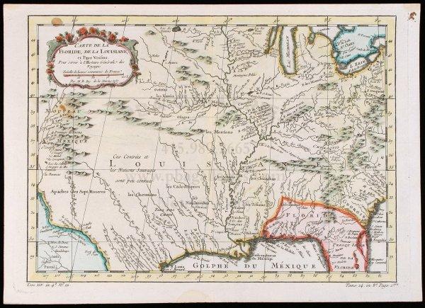 2007: Bellin map of American Southeast c.1757