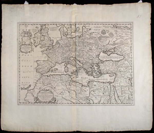 2016: Blankaart's map of Ancient Europe 1652