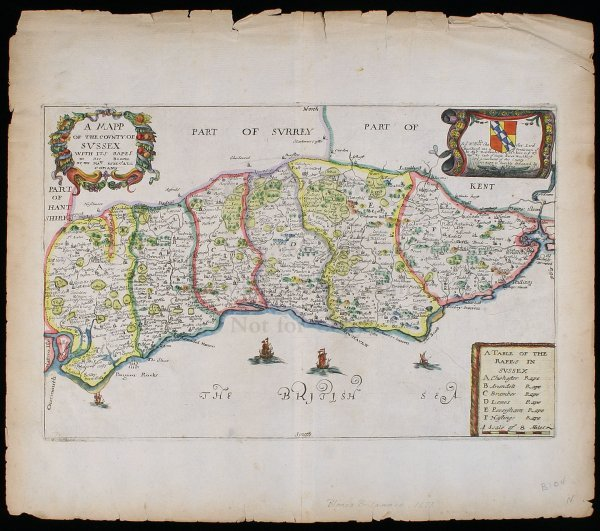 2017: Maps of English Counties by Richard Blome