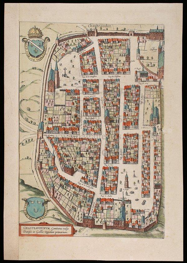 2022: Bird's-eye view of French city c.1572