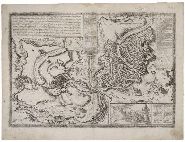 2023: Braun & Hogenberg bird's-eye of Jerusalem 1572