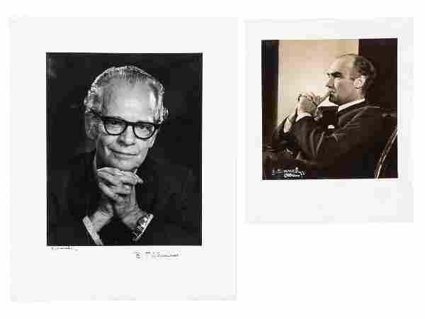 Karsh photos of Skinner & Luce