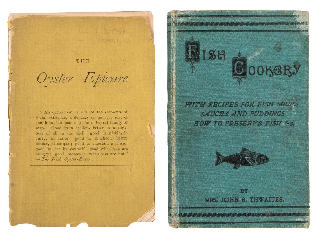 Two 19th Century Fish Books