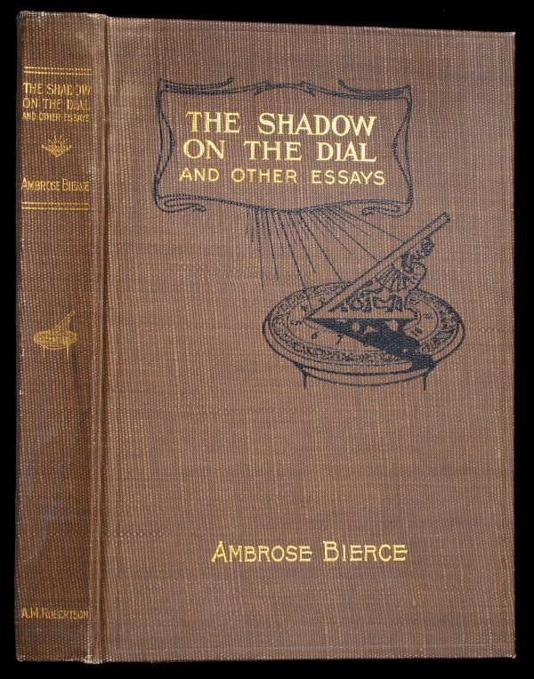 3003: Ambrose Bierce, Shadow on the Dial 1st Edition