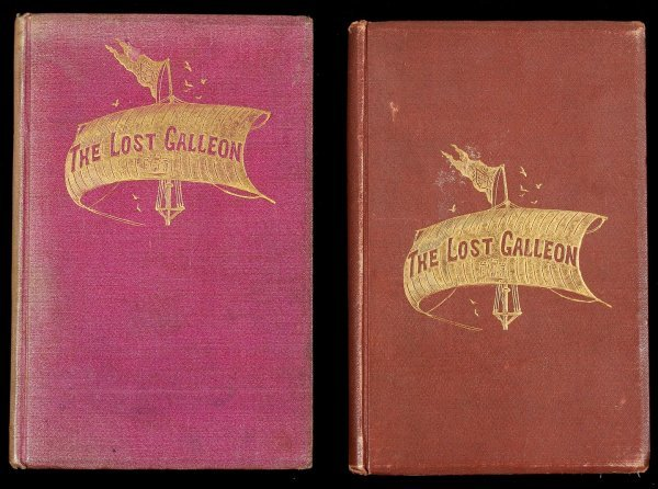 3007: Bret Harte, The Lost Galleon 1st Ed. - 2 copies