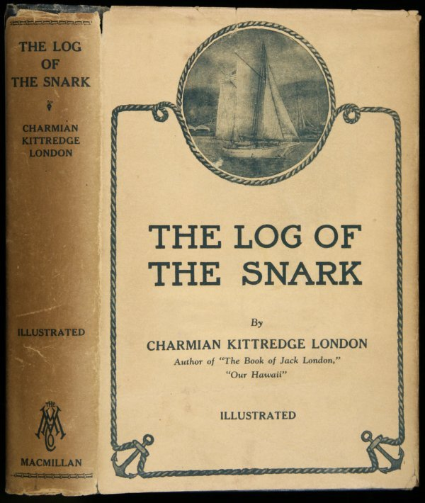 3018: Charmian London Log of the Snark inscribed