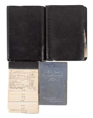 Lenny Bruce's address books