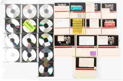 Vintage audio tapes of Lenny Bruce performances