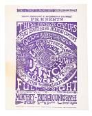 Lenny Bruce's copy of early rock concert handbill