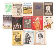 Magazines featuring works by Richard Brautigan.