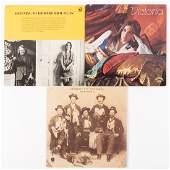 Three Richard Brautigan related LP record albums
