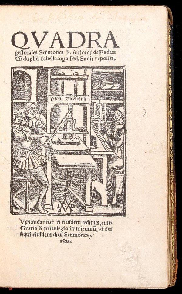 4: St. Anthony of Padua Sermons 1521