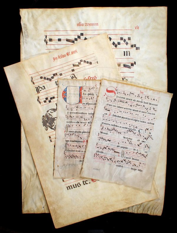 6: Antiphonal & Gradual Leaves from 15th-16th cent.